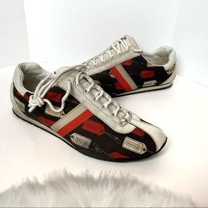 Coach Kate Leather Sneakers